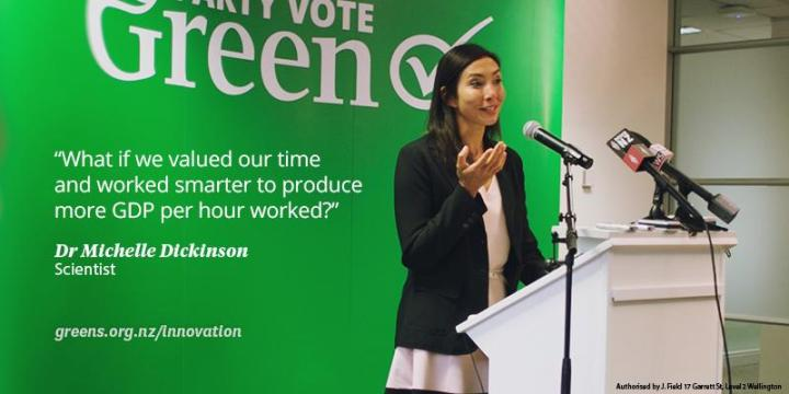 Photo courtesy of the Green Party