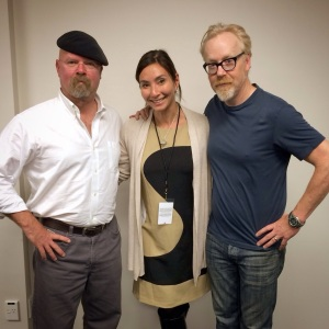 Meeting Adam and Jamie from Mythbusters
